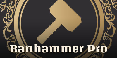 Banhammer Pro - Security Plugin