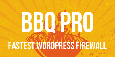 BBQ Pro - Fastest WordPress Firewall