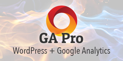 GA Pro = WordPress + Google Analytics