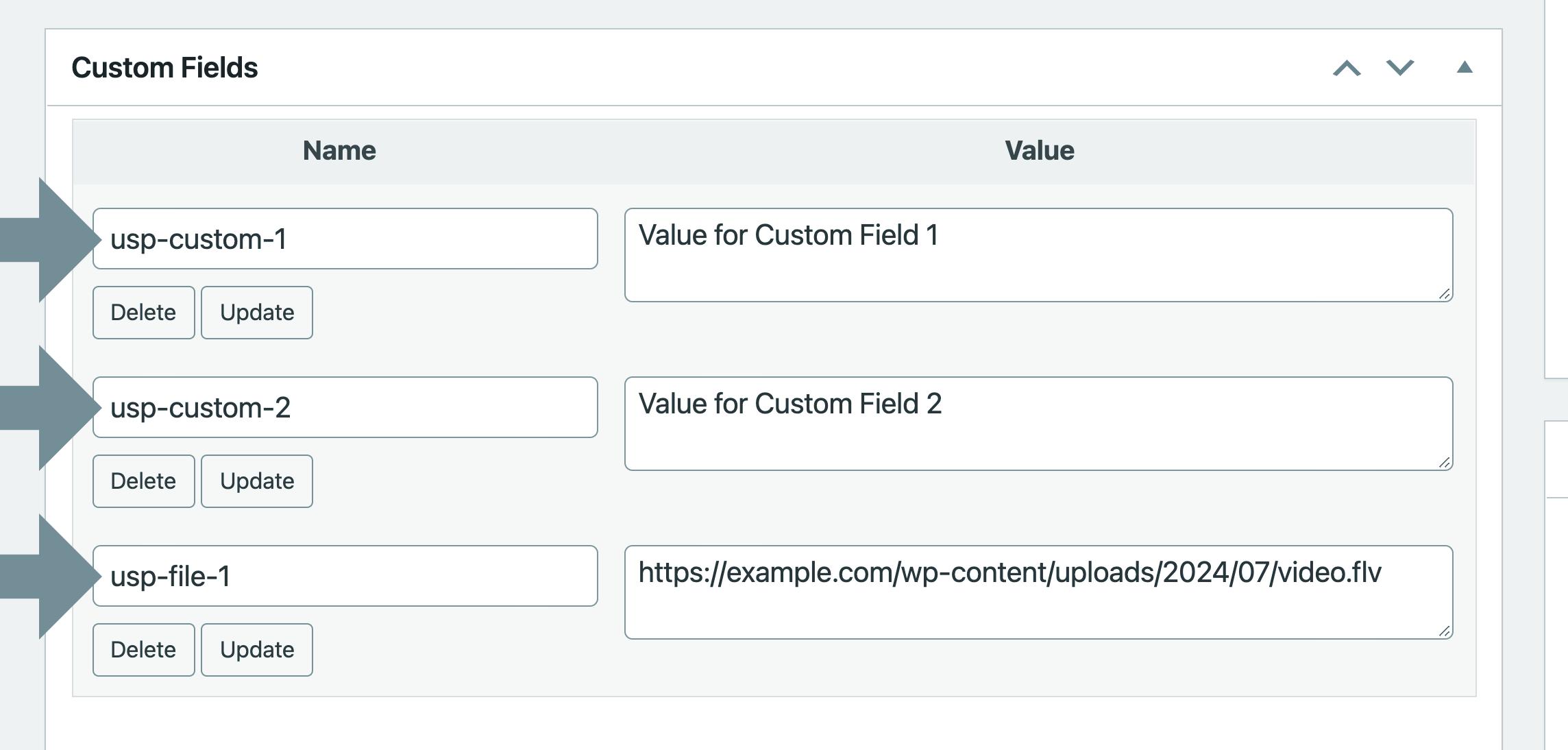 USP Helper - Custom Fields
