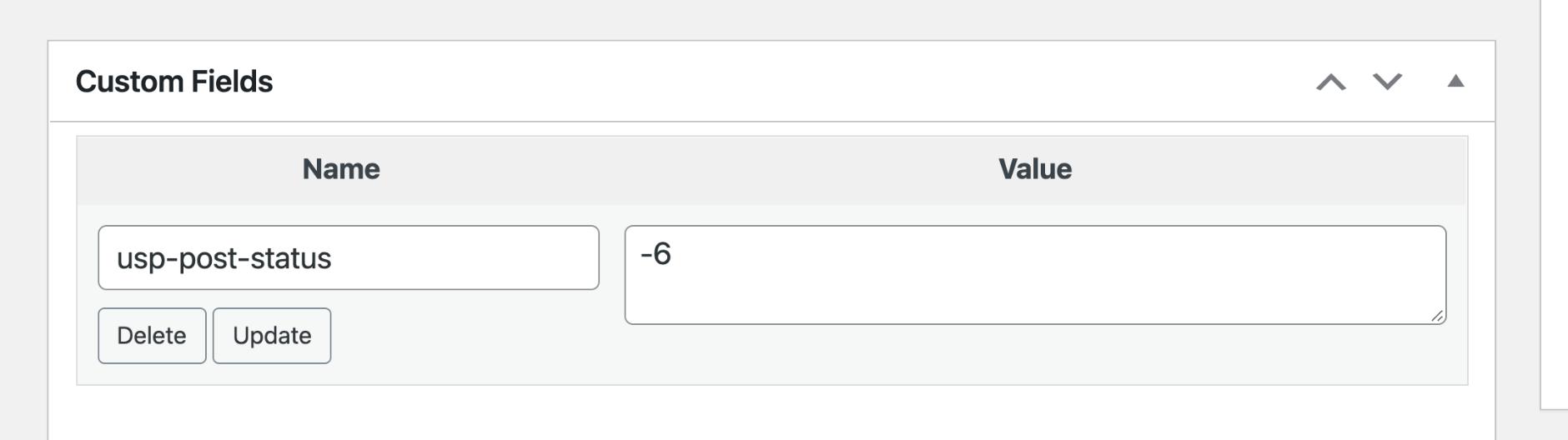 USP Pro - Custom Post Status