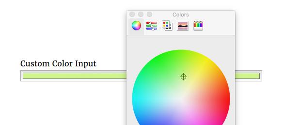 USP Pro - Custom Color Input